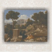 Landscape with Saint John on Patmos
